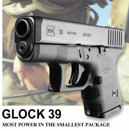 Glock G39 G3 45GAP 6+1 3.5 FS G39AUT