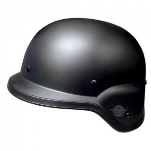Black Gi Style Military Helmet