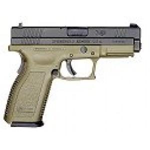 """Springfield SD Service V-10 .40 S&W 10+1 4"""" Pistol in Olive Drab - XD9706SP06"""