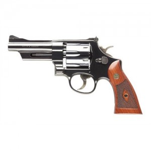 """Smith & Wesson 27 .357 Remington Magnum 6-Shot 4"""" Revolver in Blued (Classic) - 150339"""