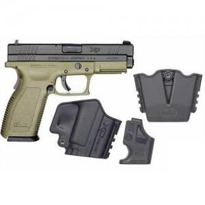 "Springfield XD Service .45 ACP 13+1 4"" Pistol in Olive Drab - XD9612HCSP06"