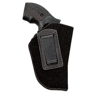 """Uncle Mike's Inside The Pants Left-Hand IWB Holster for Small 5-Shot Revolvers in Black (2"""") - 89362"""