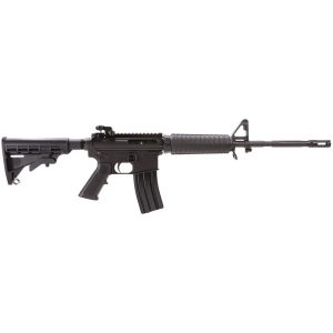 "Bushmaster Carbon 15 Flat-Top .223 Remington/5.56 NATO 30-Round 16"" Semi-Automatic Rifle in Black - 91038"