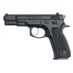 """CZ 75 B 9mm 16+1 4.7"""" Pistol in Black - 91102"""