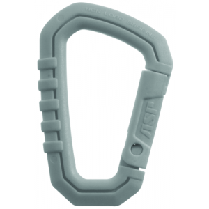 Large Polymer Carabiner Color: Gray