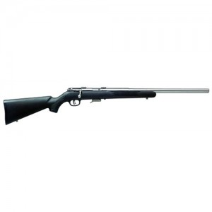 """Savage Arms 93R17 FSS .17 HMR 5-Round 20.75"""" Bolt Action Rifle in Stainless Steel - 96712"""
