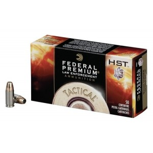 Federal Cartridge Premium Personal Defense 9mm HST Jacketed Hollow Point, 147 Grain (50 Rounds) - P9HST2