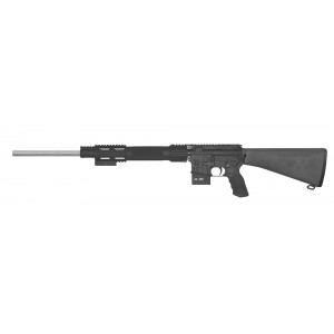 "Olympic Arms UMAR .22-250 Remington 5-Round 24"" Semi-Automatic Rifle in Stainless Steel - UMAR-22250"