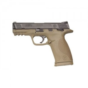 "Smith & Wesson M&P Compact .45 ACP 8+1 4"" Pistol in Black Slide/Dark Earth Frame - 109158"