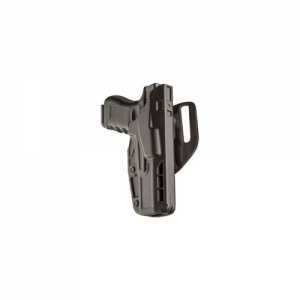 Safariland 7TS ALS Low-Ride Level I Right-Hand Belt Holster for Sig Sauer P320C in STX Plain - 7390-750-411