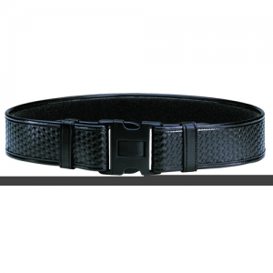 "Bianchi Accumold Elite Wide Duty Belt in Basket Weave - Medium (34"" - 40"")"