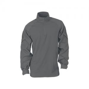 5.11 Tactical Rapid Assault Men's 1/4 Zip Long Sleeve in Storm - Large