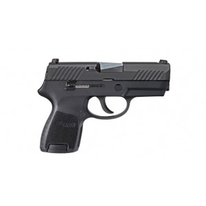 "Sig Sauer P320 SubCompact 9mm 12+1 3.9"" Pistol in Black Nitron (SIGLITE Night Sights) - 320SC9BSS"