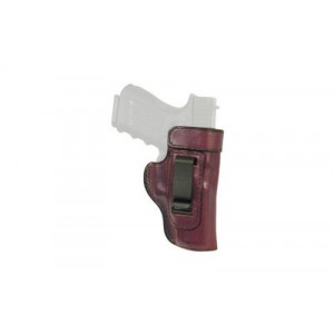 Don Hume H715-m Clip-on Holster, Inside The Pant, Fits S&wm&p Shield, Right Hand, Brown Leather J167205r - J167205R