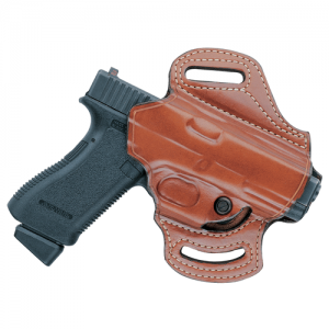 168A Flatsider XR13 Strapless Open Top Holster Color: Tan Gun: Sig Sauer P320 Hand: Right - H168ATPRU-SS320