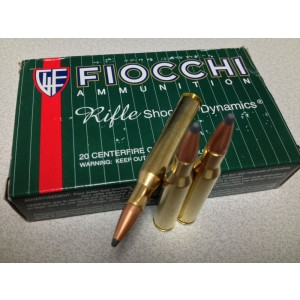 Fiocchi Ammunition .270 Winchester Pointed Soft Point, 150 Grain (20 Rounds) - 270SPE
