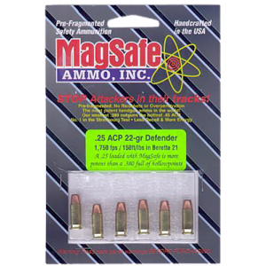 MagSafe Ammo 9mm Pre-Fragmented Bullet, 64 Grain (8 Rounds) - 9S