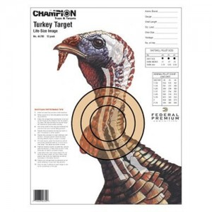 Champion 12 Pack Life Size Practice Turkey Targets 45780