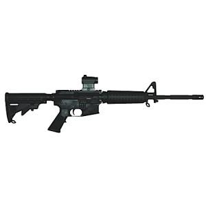 """Bushmaster M4 .223 Remington/5.56 NATO 30-Round 16"""" Semi-Automatic Rifle in Black - 90940"""