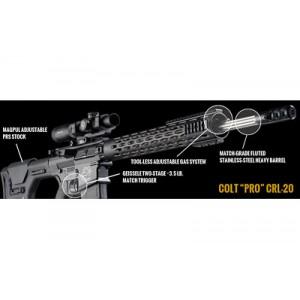 """Colt CRL-20 Pro .308 Winchester/7.62 NATO 20-Round 20"""" Semi-Automatic Rifle in Black - CRL-20"""