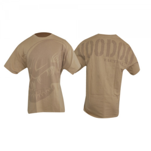 Voodoo Skull Men's T-Shirt in Sand - Large