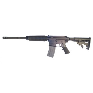 "High Standard HSA-15 Custom .223 Remington/5.56 NATO 30-Round 16"" Semi-Automatic Rifle in Black - R6551TRG"
