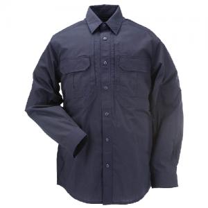 5.11 Tactical Taclite Pro Men's Long Sleeve Uniform Shirt in Dark Navy - Small