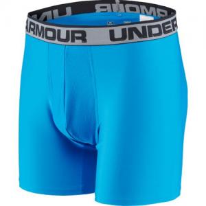 "Under Armour O-Series 6"" Men's Underwear in Brilliant Blue - 3X-Large"