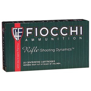 Fiocchi Ammunition Extrema Hunting .300 Winchester Magnum Boat Tail Hollow Point, 190 Grain (20 Rounds) - 300WMMKE