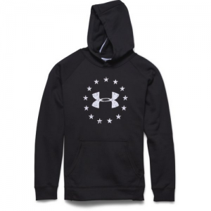 Under Armour Freedom Men's Pullover Hoodie in Black - Large