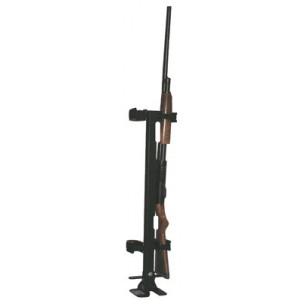 Rugged Gear Floor Mounted Removable Gun Rack with Vertical Adjustment and Lockable Position 10082