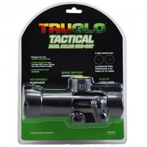 Truglo Red Dot 1x30mm Sight in Black - TG8030TB