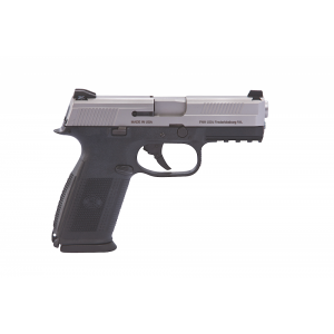 """FN Herstal FNS-40 .40 S&W 14+1 4"""" Pistol in Stainless Steel (No Manual Safety) - 66761"""
