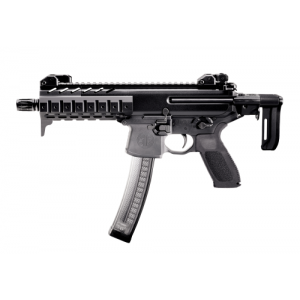 "Sig Sauer MPX 9mm 30-Round 8"" Semi-Automatic Rifle in Black - MPX-9-T-SBR"