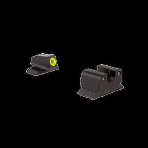 Trijicon BE11OY Tritium Beretta PX4 HD Green Sights Yellow Outline Black