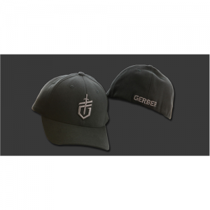 Gerber Baseball Cap in Black - Large/X-Large