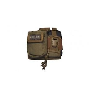 Drago Tan Recon Camera Utility Phone and Recon Case 600D Polyester 16303TN