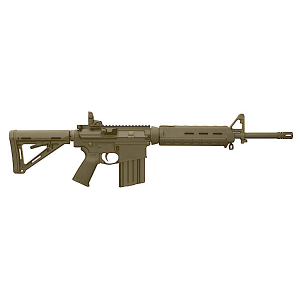 "Bushmaster XM-15 AR-15 Mid-Length MOE .223 Remington/5.56 NATO 30-Round 16"" Semi-Automatic Rifle in Flat Dark Earth (FDE) - 90839"