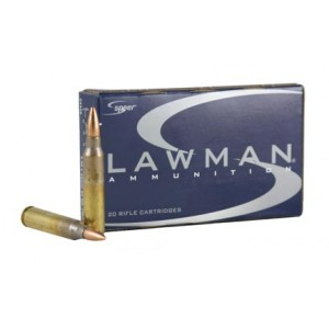 CCI Speer .223 Remington/5.56 NATO Full Metal Jacket, 55 Grain (20 Rounds) - 24459