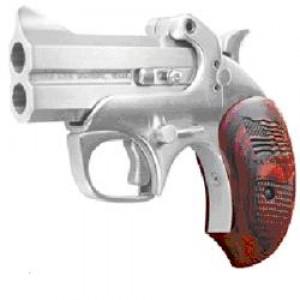 "Bond Arms USA .410/.45 Long Colt 2-Shot 3"" Derringer in Stainless (Defender) - USADEFENDER"