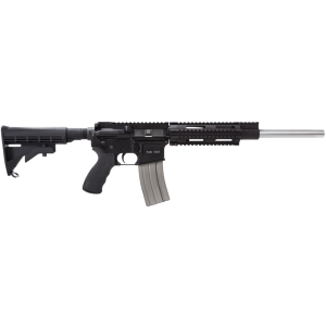 "Olympic Arms K16SST .223 Remington/5.56 NATO 30-Round 16"" Semi-Automatic Rifle in Black - K16SST"