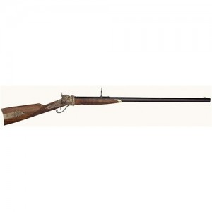 """Taylors & Co 1874 .45-70 Government Sharps Down Under Sport 34"""" Falling Block Rifle in Blued - S789457"""