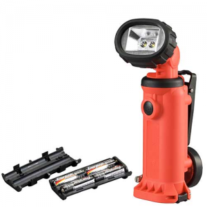 Knucklehead Haz-Lo Flood Model Charger: 4 AA Alkaline Non-Rechargeable Batteries (No Charger) Color: Orange