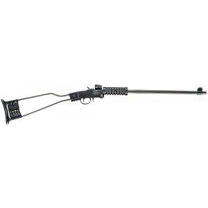 """Chiappa Little Badger .22 Long Rifle 16.5"""" Break Open Rifle in Black - 500092"""