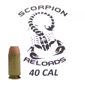 Remanufactured Scorpion .40 S&W, 165 Grain (1000 Rounds) - SRA40CS