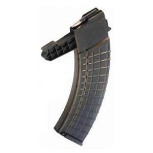 Pro Mag Industries Inc 30 Round Replacement Magazine for A4 Polymer Black FInish SKSA4