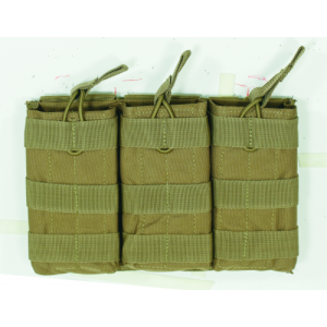 Voodoo M4/M16 Open Top Magazine Pouch w/ Bungee System Magazine Pouch in Coyote - 20-8180007000