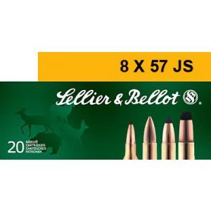 Magtech Ammunition 8X57 JRS Hollow Point Capped, 196 Grain (20 Rounds) - SB857JRSB