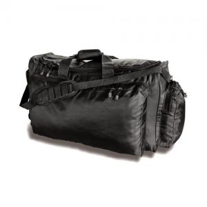 Uncle Mike's Side-Armor Tactical Waterproof Duffel Bag in Black Polyester - 53491