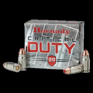 Hornady Critical Duty 9mm FlexLock, 135 Grain (25 Rounds) - 90236